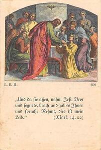 """Analytique Le Zèle Photos Icône Gebetbild """"holy Card"""" H2137"""" Jesus Bénédiction-afficher Le Titre D'origine"""