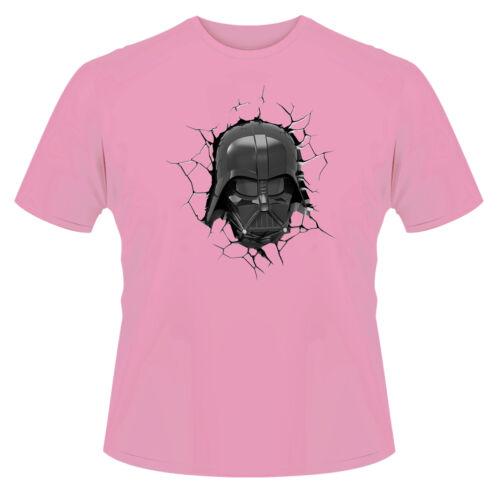 Darth Vader Cracks T-Shirt Boys Girls Kids Age 3-15 Ideal Gift//Present