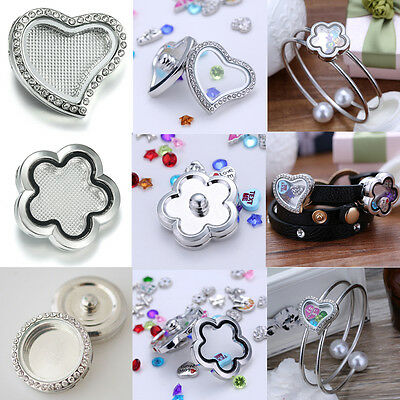 Wholesale Snap-It Chunk Floating Charms Locket For Button Snap Bangle Bracelet