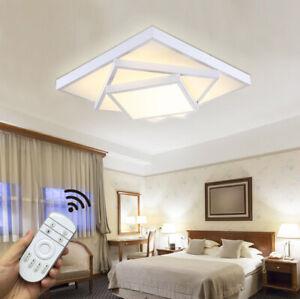 Details zu Modern LED 24W-72W Deckenlampe Deckenleuchte Wohnzimmer no/voll  dimmbar 6906F