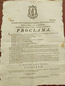 1797-253-BANDO-APERTURA-DELLA-SCUOLA-MILITARE-DEL-GENIO-E-ARTIGLIERIA-A-MODENA