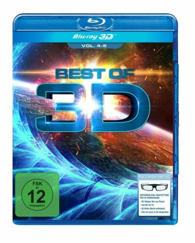 1 von 1 - Best of 3D - Vol.4-6, 1 Blu-ray