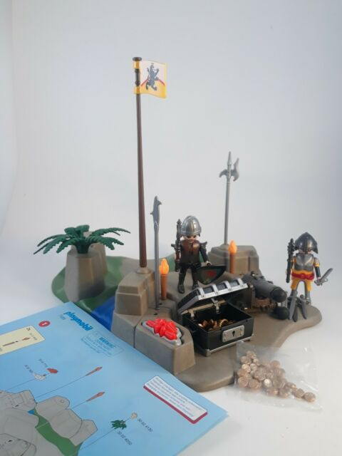 Playmobil StarterPack Knight's Treasure Battle Building Set 7495