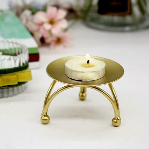 European Style Candlestick Iron Candle Holders Retro For Home Festive Ornament