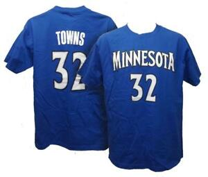 Karl-Anthony Towns #32 Minnesota Timberwolves Mens Sizes S-M-L-XL-2XL Shirt