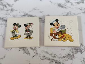 Vintage DISNEY Mickey Mouse Pluto Set 7 pieces
