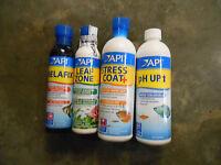 Aquarium Pharmaceuticals (4 Bottles) (r-2)