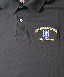 173RD-AIRBORNE-BRIGADE-034-SKY-SOLDIERS-034-EMBROIDERED-LIGHTWEIGHT-POLO-SHIRT
