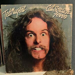 TED-NUGENT-Cat-Scratch-Fever-12-034-Vinyl-Record-LP-VG