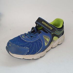 3b84bd8a Details about SAUCONY Kotaro 3 Blue\ Yellow Athletic Sneaker Shoes Toddler  Boys Size 2 med Kid