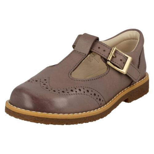 Zapatos Barra Niña Clarks Para Caminar Hebilla T Rosa Reign Primeros Comet Cuero xrzpnxSY