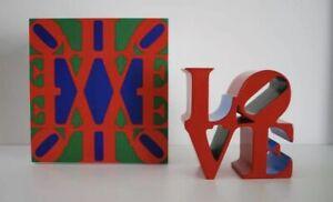 Robert Indiana - Love  (red, Blue,green) - Sculpture