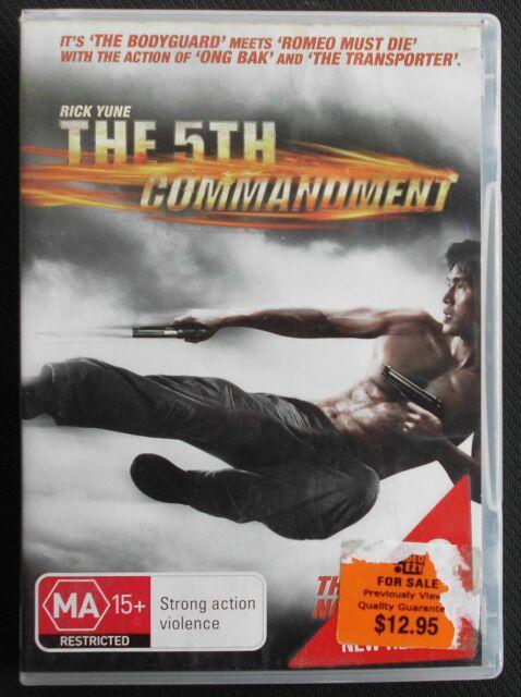 The 5th Commandment (DVD, 2009)   Rick Yune    Region 4                   (1098)