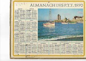 Calendrier Poste.Details Sur La Poste Calendrier Almanach Des Ptt 1970 Saint Servan
