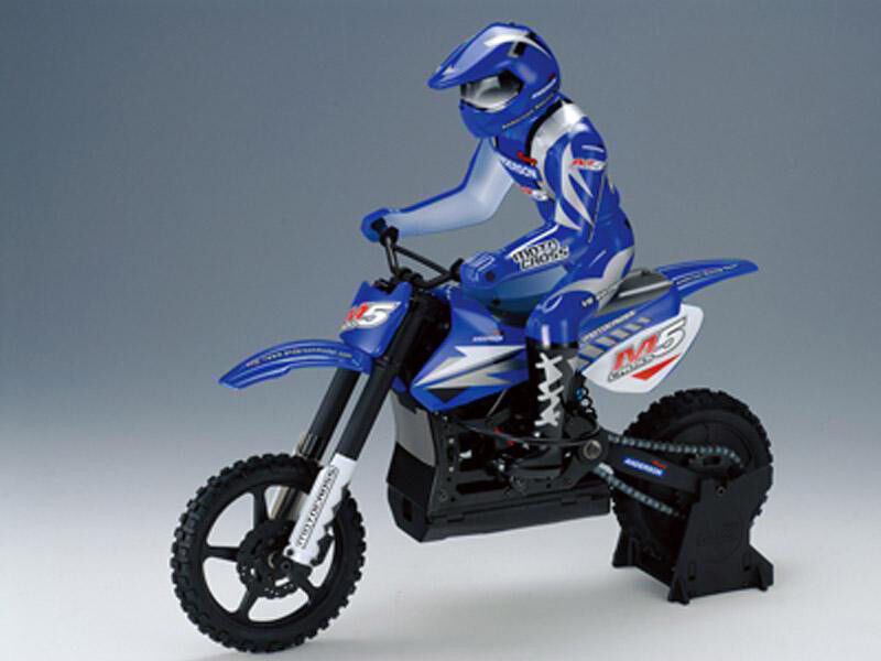 Anderson Racing M5 RTR Motocross Bike with Transmitter bluee ANM1201RTR