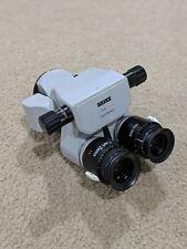 Carl Zeiss 0 180deg Inclinable Binocular With 10x Eyepiece For Opmi Sur Microscope