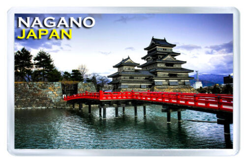 Nagano Japan Matsumoto Castle Fridge Magnet Souvenir Magnet Kühlschrank