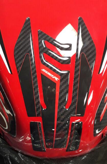 Aufkleber Gel 3D Schutz Tankdeckel Kompatibel Für Motorrad Honda CBR 650R