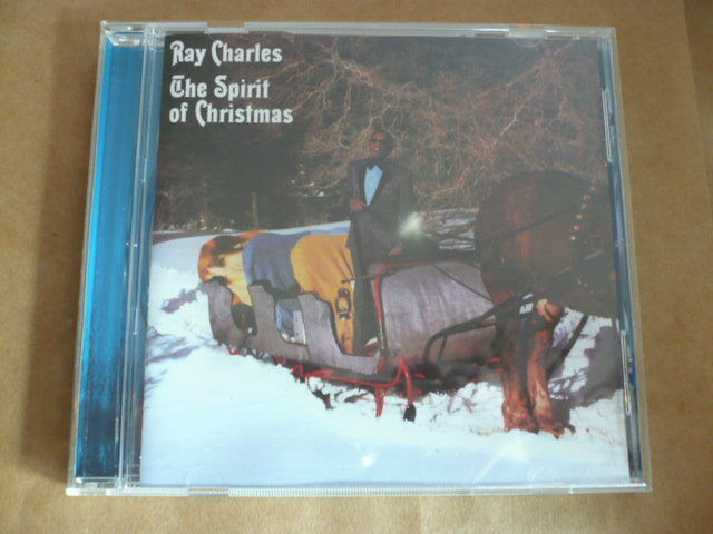 The Spirit of Christmas [Remastered] [Bonus Track] Ray Charles (CD, Nov-2009) LN