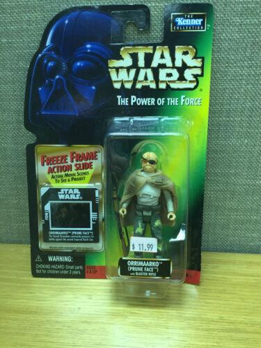 Kenner Star Wars Power of the Force Orrimaarko Prune Face figure New!