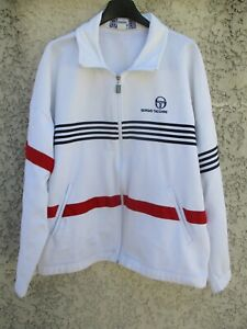 Veste-SERGIO-TACCHINI-vintage-giacca-tennis-jacket-80-039-s-made-in-Italy-F-44-I-50