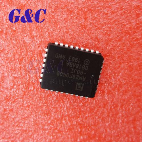 2//5PCS IC AM29F040B-90JI AM29F040B PLCC32 AMD GOOD QUALITY