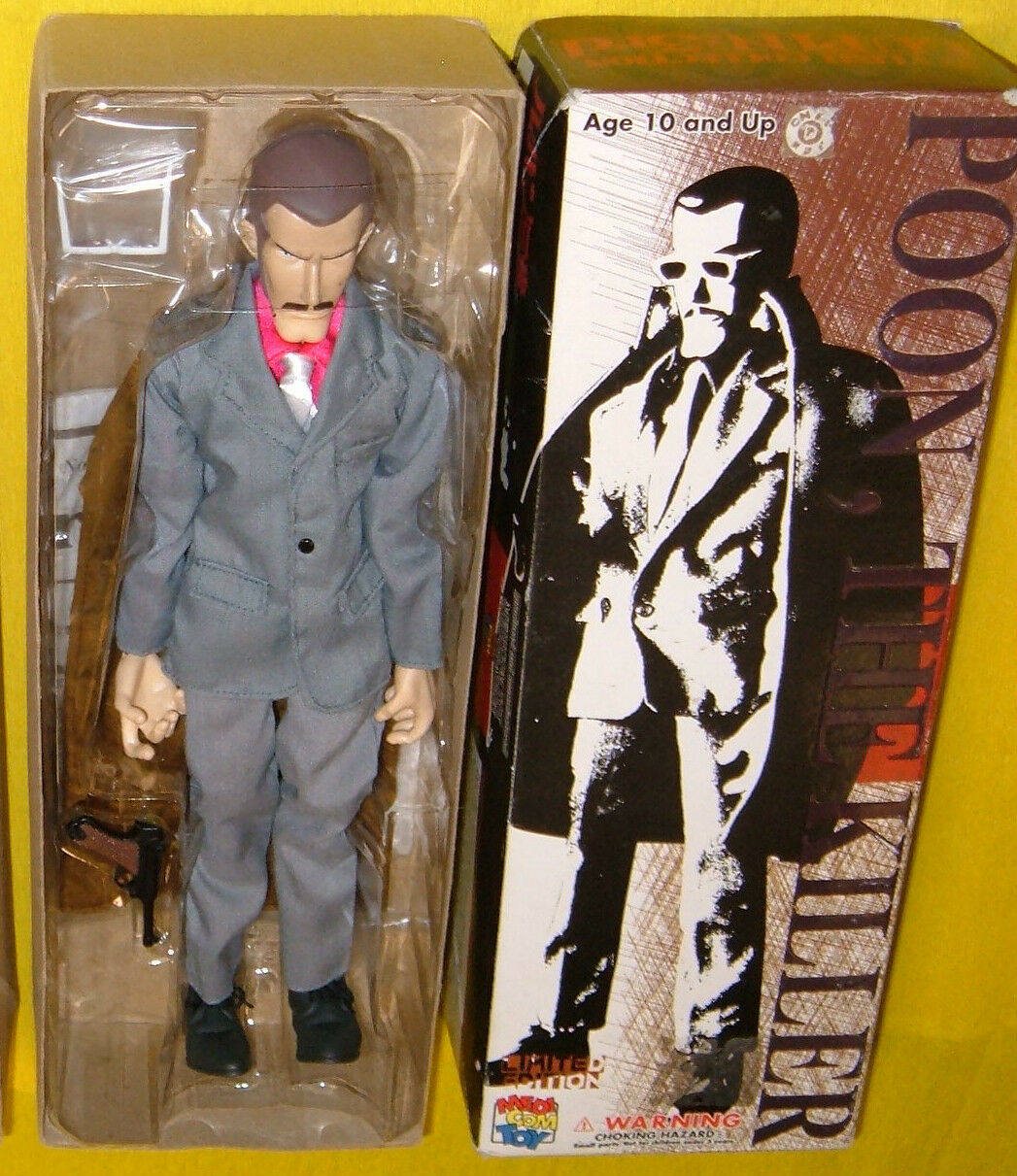 Lupin iii 3 ° poon der killer medicom rah begrenzte ed abbildung 12  puppe