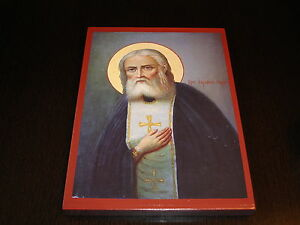 Santo Seraphim de Sarow Icono Icon Ikona ΣΕΡΑΦΕΊΜ Iconos ikona икона Serafim