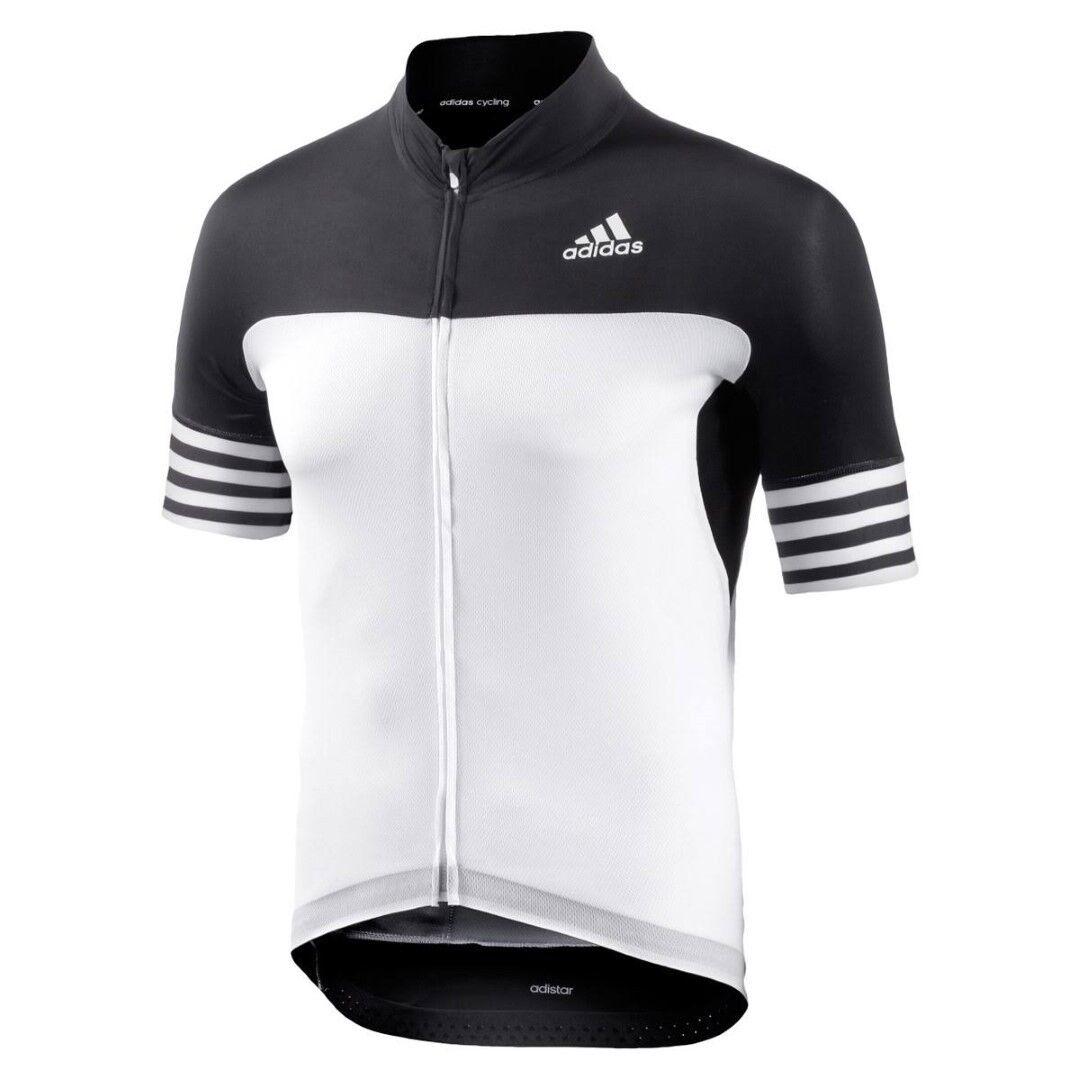Adidas Mens Bike Jersey Adistar Ss Jsym Jersey Shirt