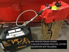 Firman W2000i 2000 Watt Generator 3 Gallon Extended Run Fuel System