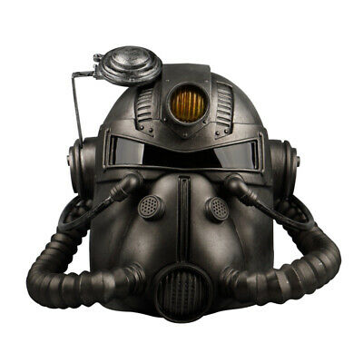 Fallout 76 Wearable T-51 Power Armor Helmet Fall Out Mask Prop Halloween Mask