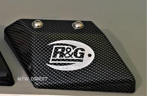 G2 1998-1999 R/&G BLACK ABS SHARK/'S FIN TOE CHAIN GUARD KAWASAKI ZX6-R G1