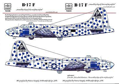 Hungarian Aero Decals 1//48 B-17F FLYING FORTRESS ASSEMBLY SHIP BIRMINGHAM BLITZ
