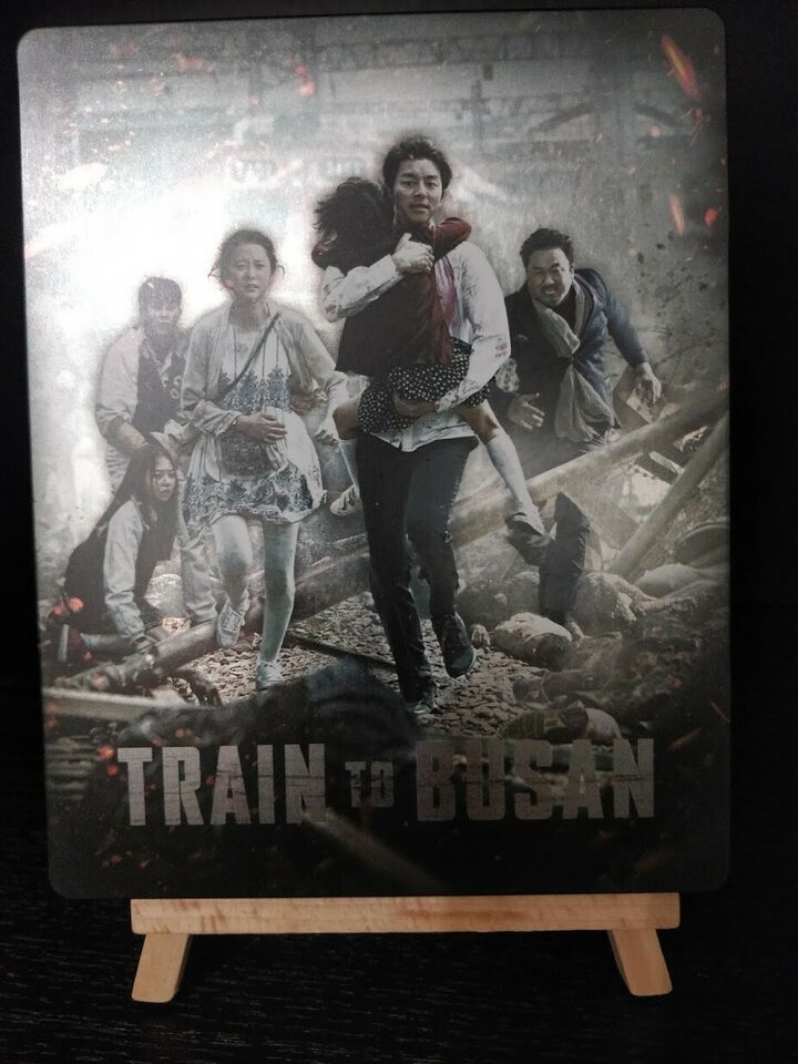 Train to Busan Steelbook, Blu-ray, gyser