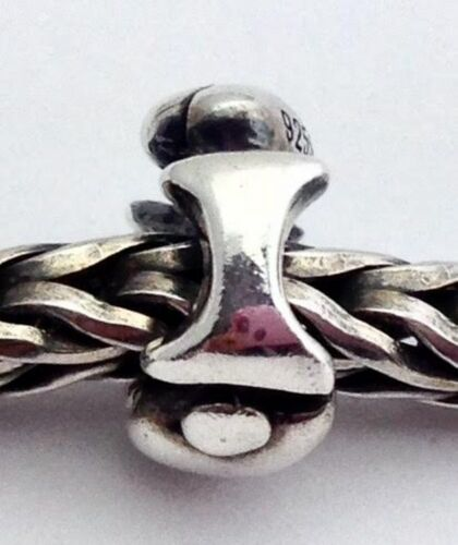 """New Authentic Trollbeads Sterling Silver Letter /""""I/"""" Charm 11144i"""