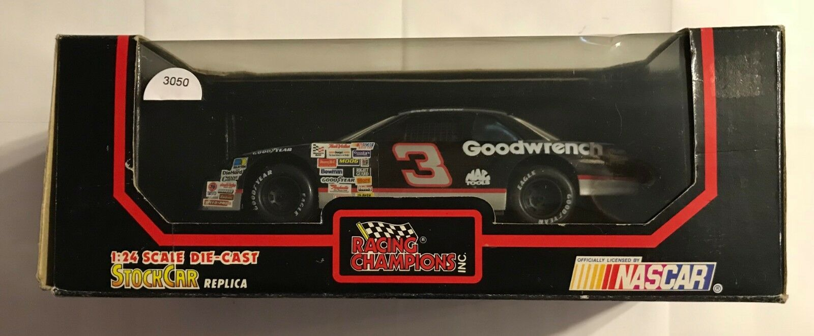 1992 Racing Champions  3 Dale Earnhardt Goodwrench Lumina  3050 escala 1 24TH