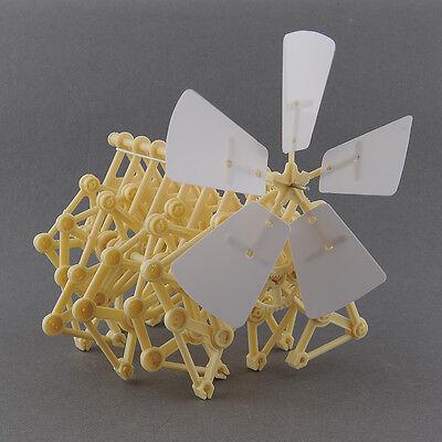 Puzzle Wind Powered Walking Walker Mini Strandbeest DIY Assembly Model Robot Toy