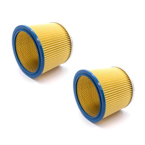 Aquavac 2x Staubsaugerfilter für FAM 7409 P Filter