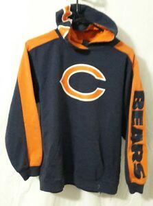 new style 8c27f 33bf0 NFL Team Apparel Reebok Chicago Bears Hoodie Sweatshirt ...