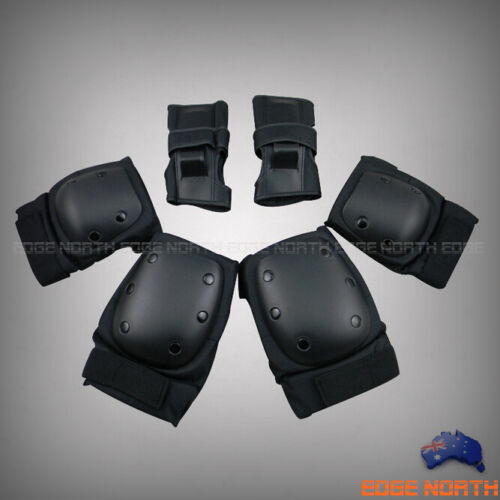 High Quality PRO Skate Protection ElbowKnee Pads WristBrace Guards 6PcsSet