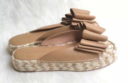 Sigerson Morrison Verane Sand Leather Espadrilles
