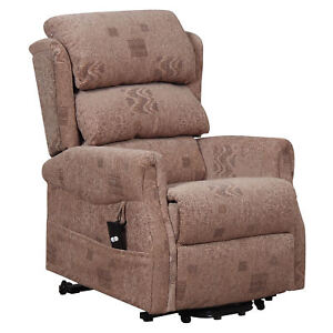 Details about Axbridge Electric Recliner chair powered reclining armchair  in fabric demo