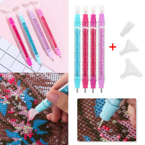 Double Head Crystal 5D Diamond Painting Point Drill Pen DIY Cross Stitch Sewing