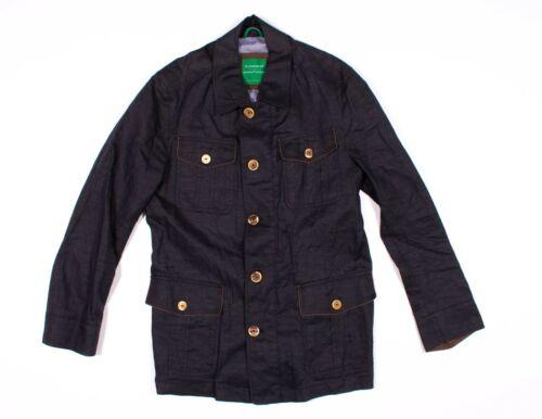 Schneiders Salzburg Blue Linen Field Jacket Size 3