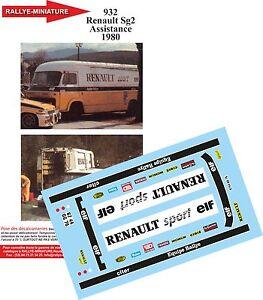 DECALS 1//18 REF 1241 RENAULT 5 GT TURBO JEAN RAGNOTTI RALLYE DU VAR 1988 RALLY