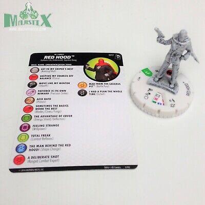Heroclix Joker/'s Wild set Red Hood #017 Uncommon figure w//card!
