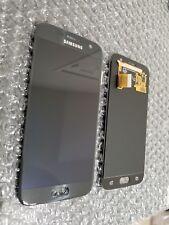 Samsung Galaxy S7 G930a G930V LCD Digitizer Screen W/ Logo Black Onyx