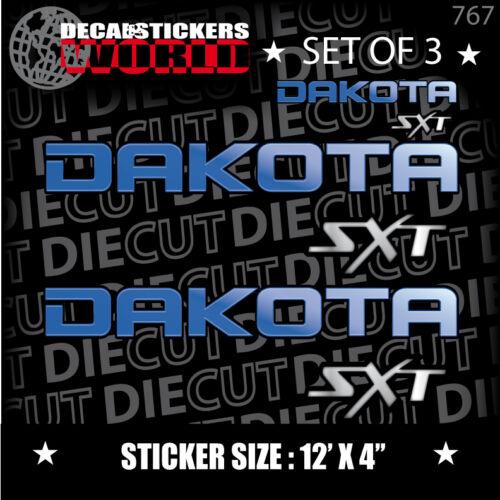 *NEW* 4X4 SPORT OFFROAD DECAL STICKER DAKOTA SXT TRX4 DARK CHECKER PLATE 767