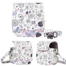 PU Leather Cartoon Camera Case Shoulder Bag Cover For Fuji Fujifilm Instax Mini8