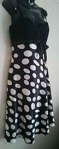 Ladies-size-12-polka-dot-dress-BNWT-L-039-AMOUR